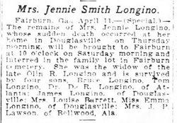 Eugenia C. <i>Smith</i> Longino