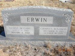 Eloise <i>McCabe</i> Erwin