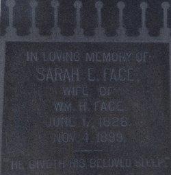 Sarah E. <i>Dunbar</i> Face