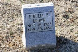 Etrulia E Brown