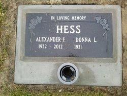 Alexander F Hess