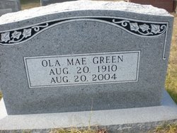 Ola Mae <i>McKnight</i> Green