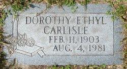 Dorothy Ethyl Carlisle