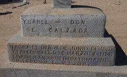 Ysabel <i>Don</i> Calzada