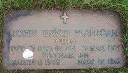 Pvt John David Flanigan