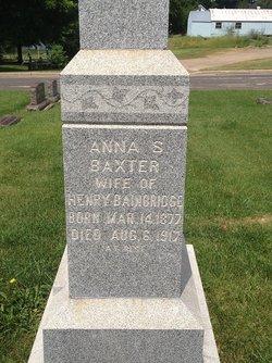 Anna S Baxter
