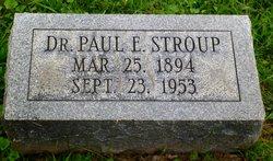 Dr Paul Eugene Stroup