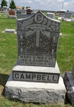 Mary Virginia <i>McMullen</i> Campbell