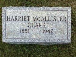 Harriet <i>McAllister</i> Clark
