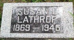 Susan Laura Susie <i>Wadsworth</i> Lathrop