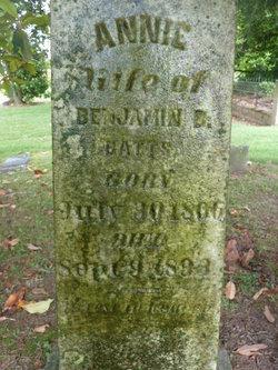 Susannah Annie <i>Cobb</i> Batts