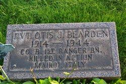 Pvt Otis J Bearden