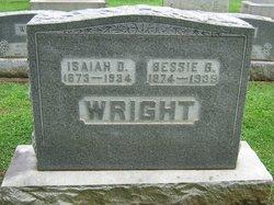 Rebecca Bessie <i>Bean</i> Wright