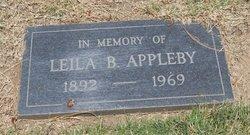 Leila Bell <i>Parker</i> Appleby