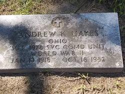 Andrew K. Hayes