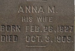 Anna Mary <i>Eyster</i> Eisenhart