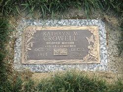 Kathryn M. <i>Beasley</i> Crowell