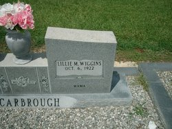 Lillie M <i>Wiggins</i> Scarbrough