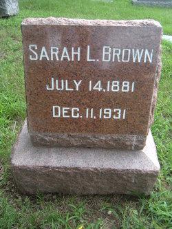 Sarah Lucinda <i>Barmore</i> Brown