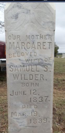 Margaret A. <i>Bevans</i> Wilder