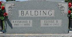 Eloise <i>Berg</i> Balding