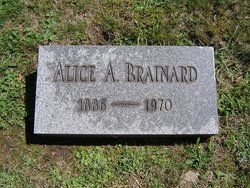 Alice A <i>Plumley</i> Brainard