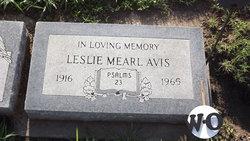 Leslie Mearl Avis