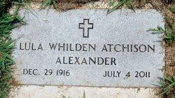 Lula Whilden <i>Atchison</i> Alexander