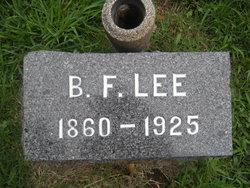 Benjamin Franklin Lee