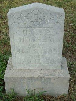 Dr J B Hoshaw