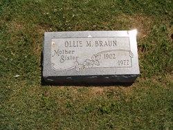 Ollie M. <i>Brindle</i> Braun