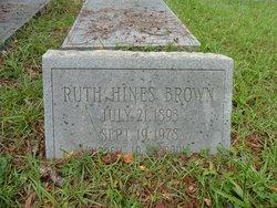 Ruth <i>Hines</i> Brown