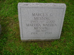 Martha <i>Marden</i> Messing