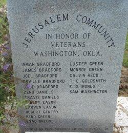Jerusalem Cemetery (Black)