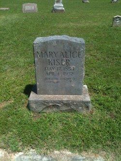 Mary Alice <i>McFarland</i> Kiser