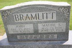 Maude <i>Simpson</i> Bramlitt