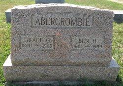 Grace O <i>Eggleston</i> Abercrombie