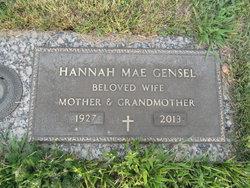 Hannah Mae <i>Showers</i> Gensel