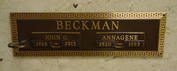 Annagene <i>Cessna</i> Beckman