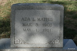 Ada Lou <i>Shaver</i> Mathis