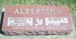Dorothy Elaine <i>Baggs</i> Albertson