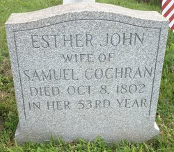 Esther <i>John</i> Cochran