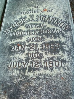 Maggie J. <i>Brannon</i> Norman