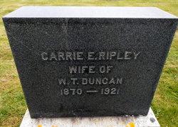Carrie E <i>Ripley</i> Duncan