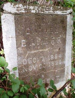 Rev Daniel Barber