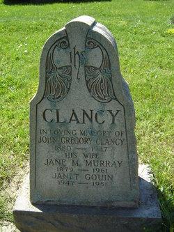 Jane May <i>Murray</i> Clancy