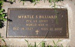Myrtle S. <i>Foss</i> Billiard