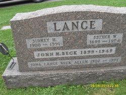 Iona L <i>Lance</i> Allen