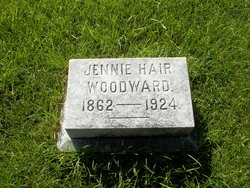 Jennie Elizabeth <i>Haire</i> Woodward