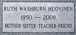 Ruth Marthine <i>Washburn</i> Huovinen